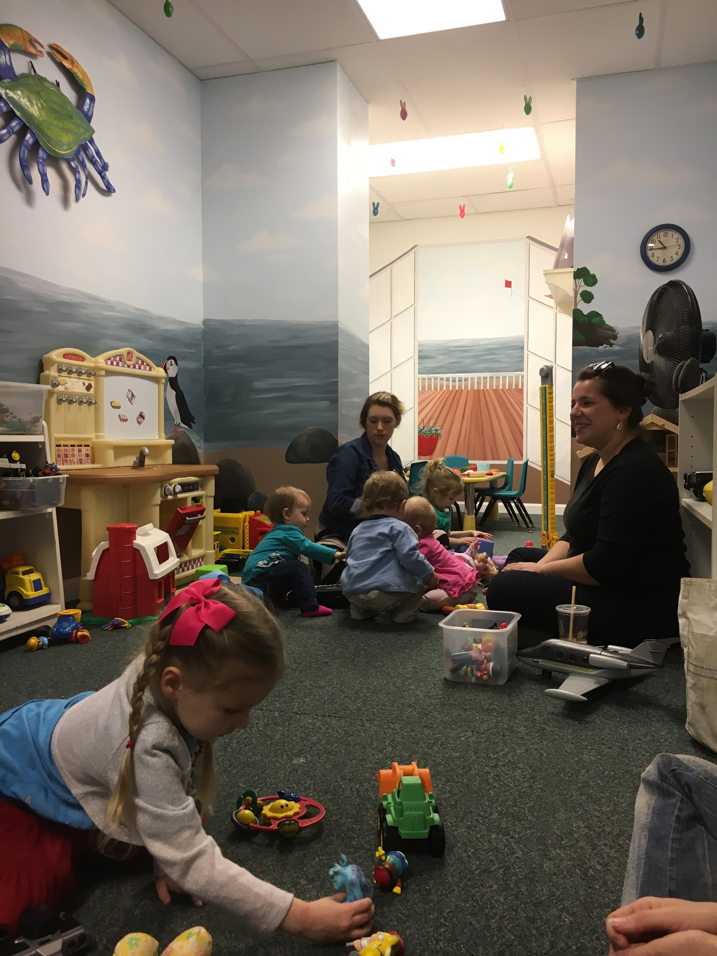 Playgroup Keeps Moms Connected!